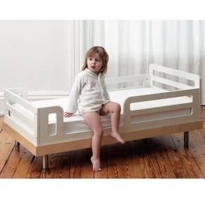 """Lit enfant 70x140 en bois Classic """"Bouleau"""" Oeuf NYC"""