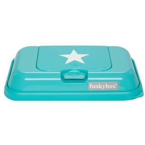 Funky box to go turquoise