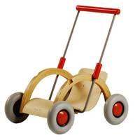 Marcheur/poussette à poupée Troll en bois