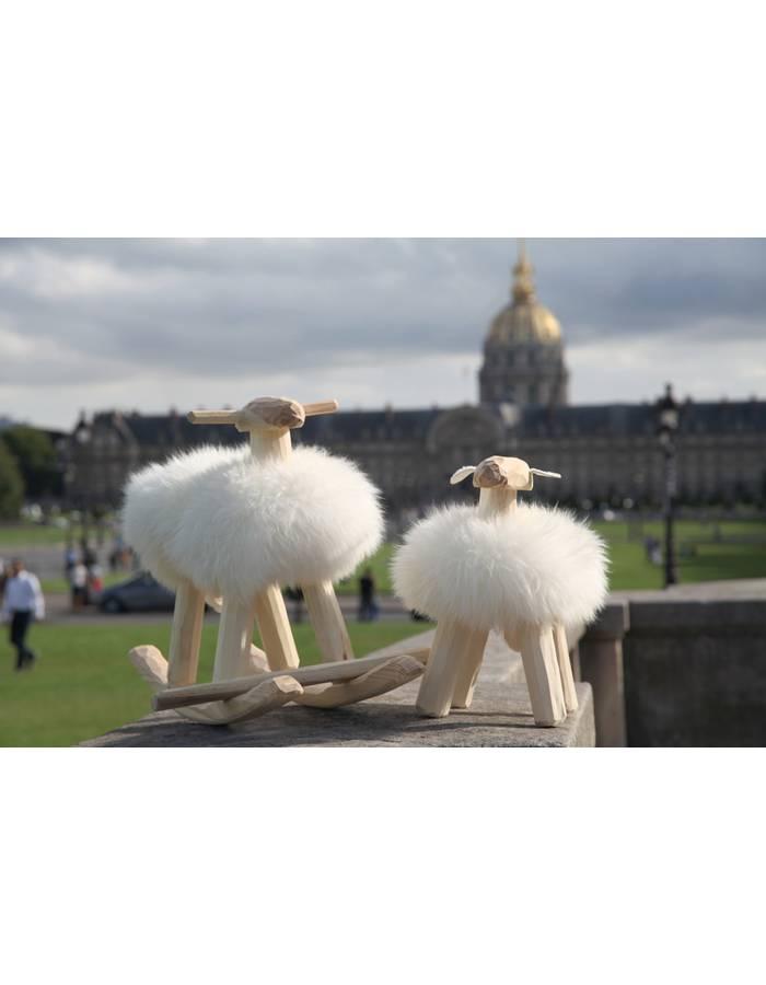 mouton bascule emil suede import dr m design. Black Bedroom Furniture Sets. Home Design Ideas