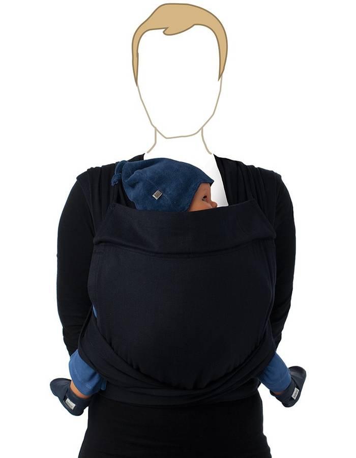 Echarpe de portage BB Tai en coton bio