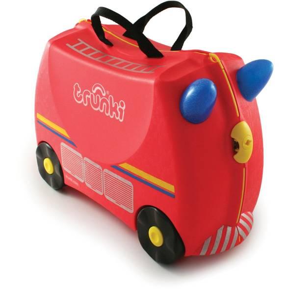 """Valise à roulettes enfant """"Pompier"""""""