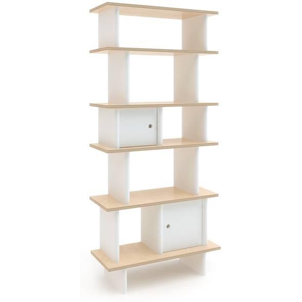 """Bibliothèque Mini Library verticale en bois """"Bouleau"""""""