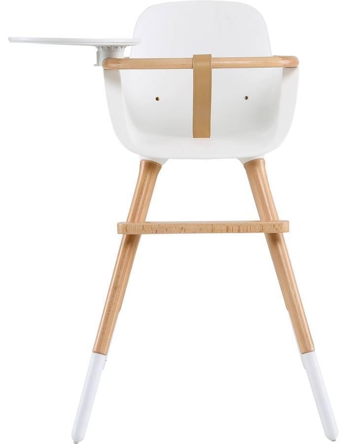 chaise haute ovo plus one avec harnais blanc dr m design. Black Bedroom Furniture Sets. Home Design Ideas
