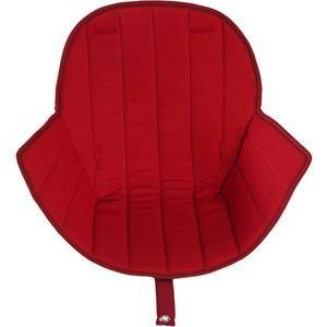 Assise tissu ovo luxe rouge - micuna -