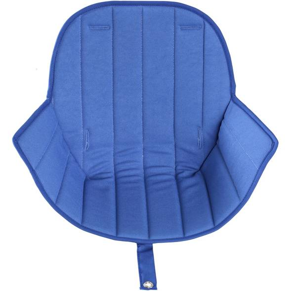 "Assise pour chaise Ovo Luxe ""Bleu"""
