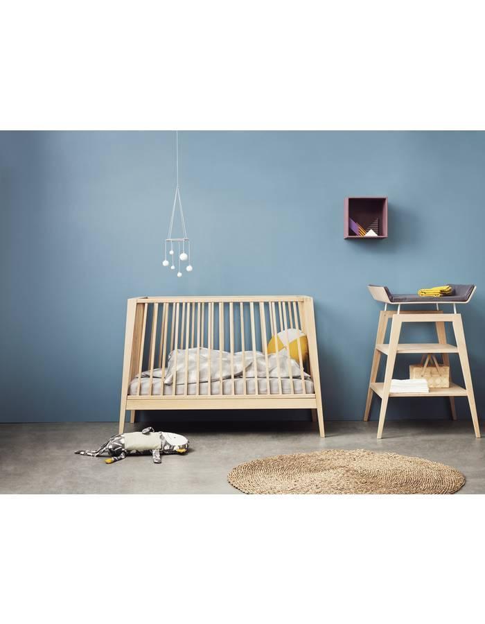 lit linea en ch ne massif leander dr m design. Black Bedroom Furniture Sets. Home Design Ideas