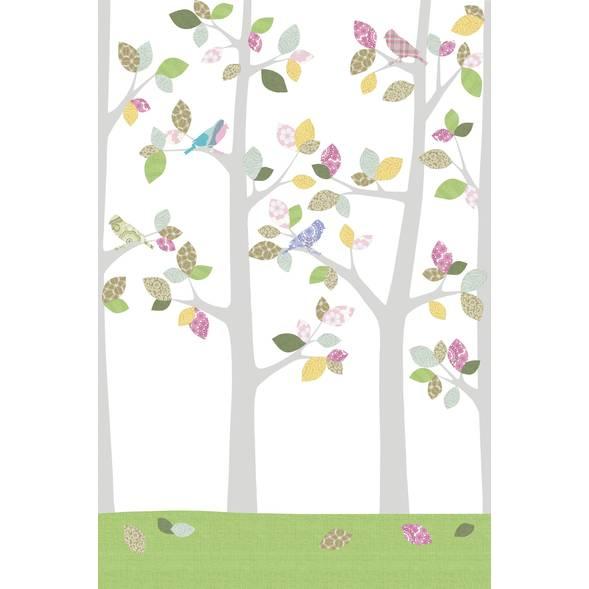 """Papier peint 200x300 """"Forêt en mai"""""""