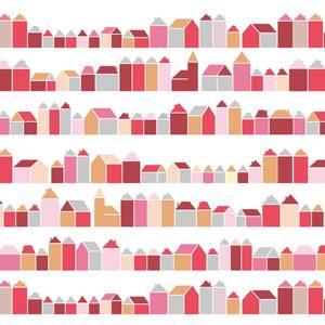Huisjes rood - inke -