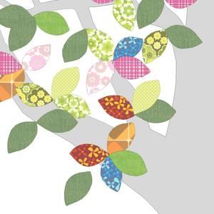 "Arbre en papier vintage 1 ""September 074"" - 260x200 - Inke"