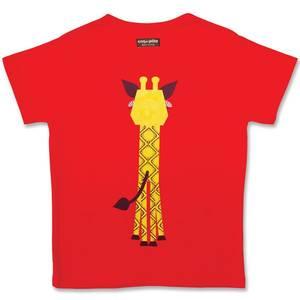 T-shirt mibo girafe en coton bio - Coq en Pâte