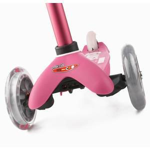 "Trottinette enfant 3 roues Mini Micro Deluxe ""Rose anodisé"" micro"