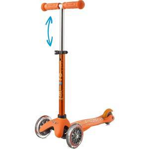 "Trottinette enfant 3 roues Mini Micro Deluxe ""Orange anodisé"" micro"