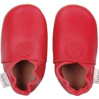 "Chaussons Soft Sole ""Classic Dot"" - Red - bobux"
