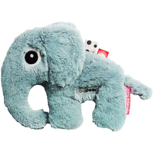 Peluche elphee elephant bleu done by deer