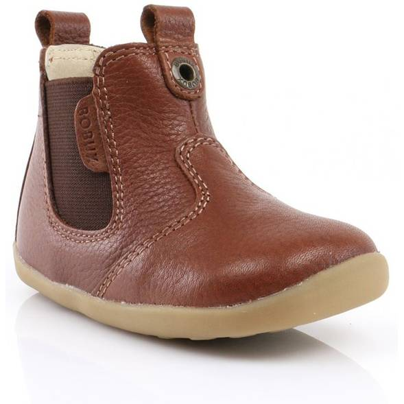 "Bottines en cuir Step Up ""Jodhpur"" Toffee"