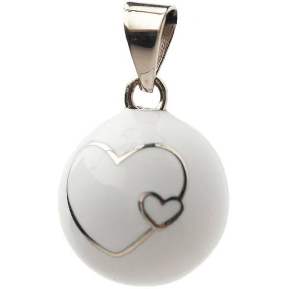 Bola coeur blanc - Babylonia