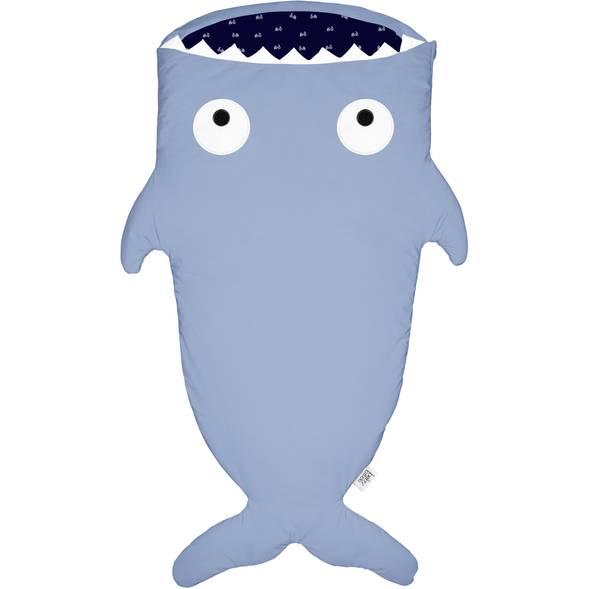 """Sac de couchage (2/6 ans) Requin """"Bleu / Bicycles"""""""