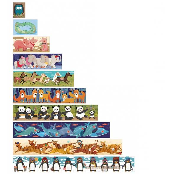 Puzzle 10 penguins - Londji