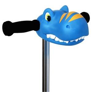 Tête de dino bleu trotinette - micro