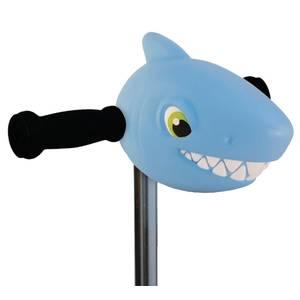 Tête de requin bleu clair trotinette - micro