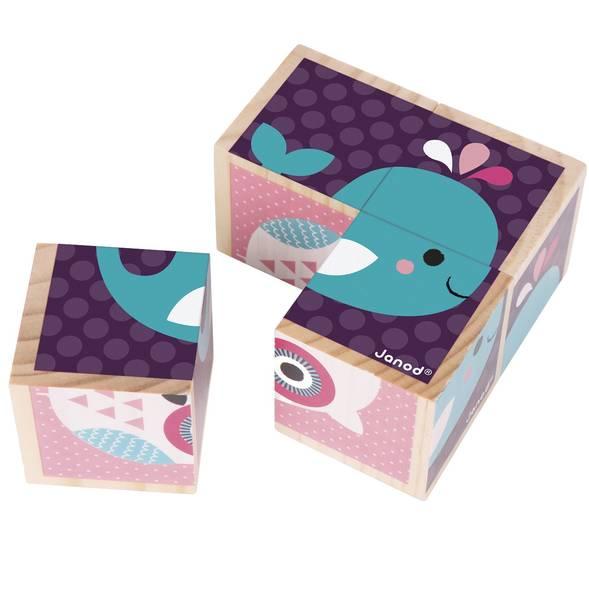 """Mes premiers cubes """"Bébés animaux""""  - Janod"""