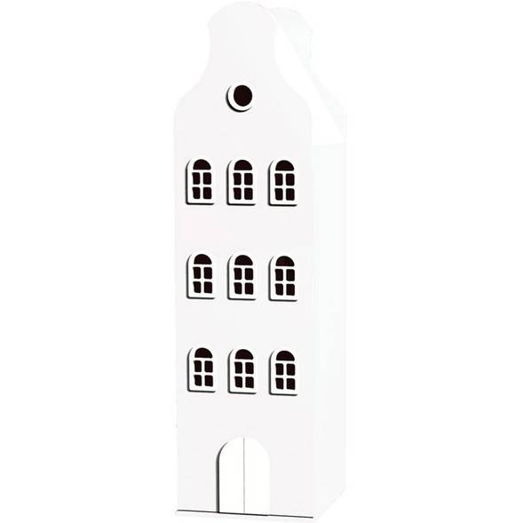 Armoire Amsterdam Kast Van Een Huis avec toit cloche - White - This is Dutch