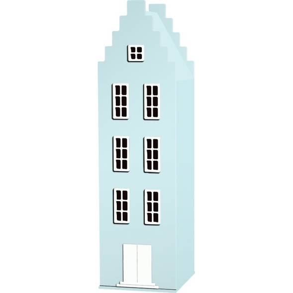 Armoire Amsterdam Kast Van Een Huis avec toit escalier - Sea Pastel - This is Dutch