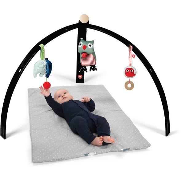 Arche d'éveil en bois - noir - FRANCK & FISCHER