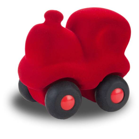 "Train Choo Choo en caoutchouc naturel ""Rouge"" (17 cm)"