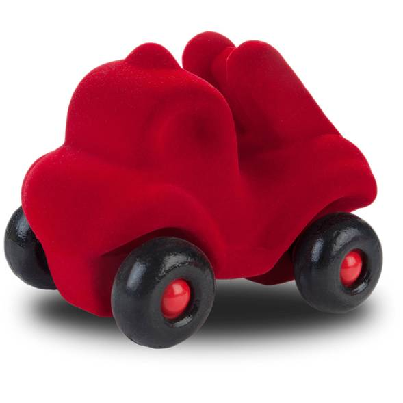 """Camion de pompiers en caoutchouc naturel """"Rouge"""" (10 cm)"""