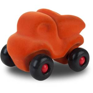 """Camion décharge en caoutchouc naturel """"Orange"""" (11 cm) Rubbabu"""