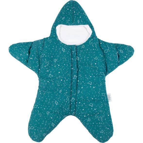 "Nid d'ange hiver Etoile ""Star Emeraude"" (3-9 mois)"
