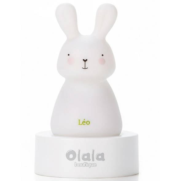 """Veilleuse LED """"Léo le Lapin"""""""