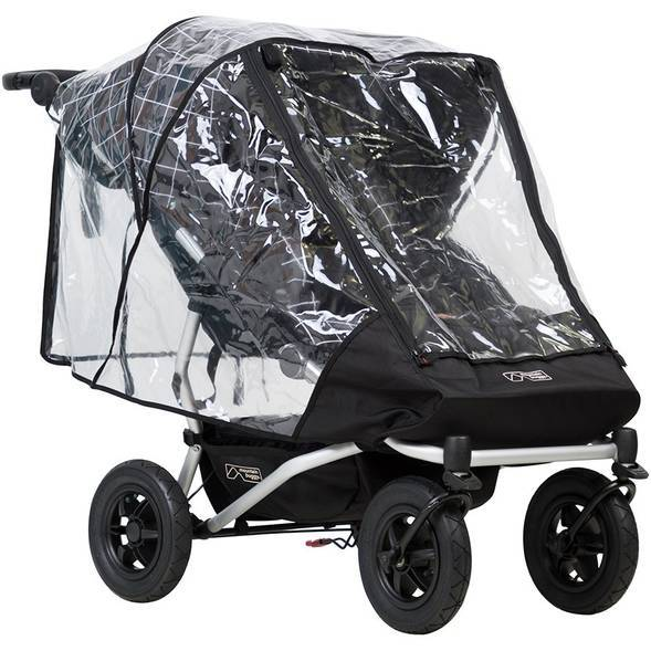 Protection pluie double Duet - Mountain Buggy
