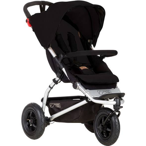 Poussette Swift V3 - Black - Mountain Buggy