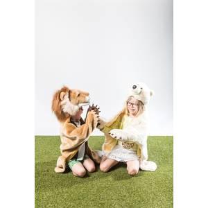 """Deguisement enfant en peluche """"Tigre""""  Wild & Soft"""