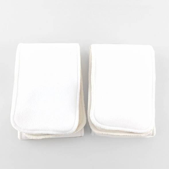 Matelas absorbants lavables en coton biologique (x2) - Taille XS/S - Hamac