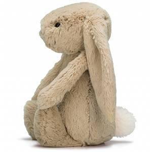 Peluche Lapin géante Bashful bunny beige really big 67cm jellycat