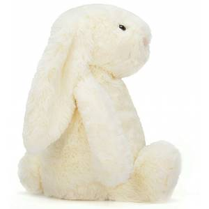 Peluche lapin grande Bashful bunny cream really big 67cm- jellycat-