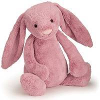 Bashful bunny tulip pink really big 67cm- jellycat-