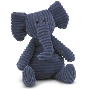 Jelly cat cordyroy elephant small