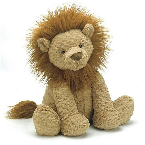Peluche Fuddlewuddles lion big - jellycat -