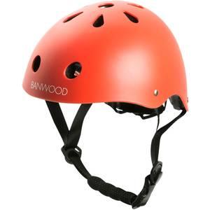 Casque enfant pour draisienne et vélo Matte Red - Banwood -