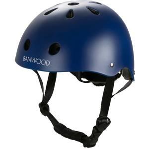 Casque enfant pour draisienne et vélo Matte Navy - Banwood -