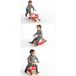 Mini-Flip 3 en 1 Blanc/Blanc (9 mois/3 ans)