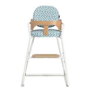"""Chaise haute enfant évolutive en bois Tibu """"Gentle White"""" Charlie Crane"""