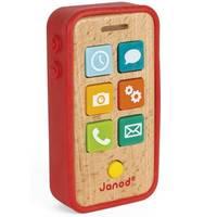 Téléphone Sonore  en bois (18 mois-3 ans)