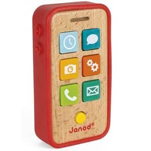 Jouet enfant Téléphone Sonore en bois Janod