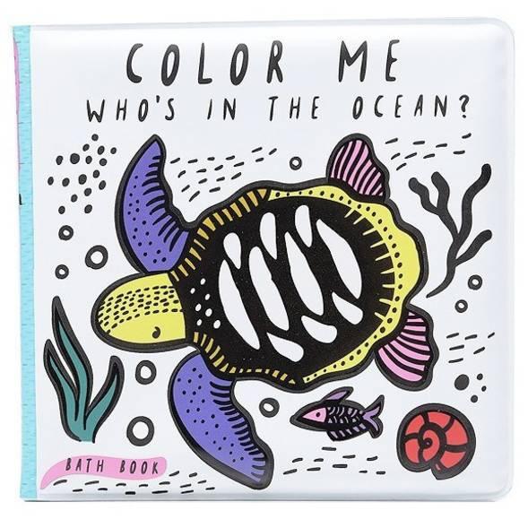 """Livre de bain à colorier """"Ocean"""""""